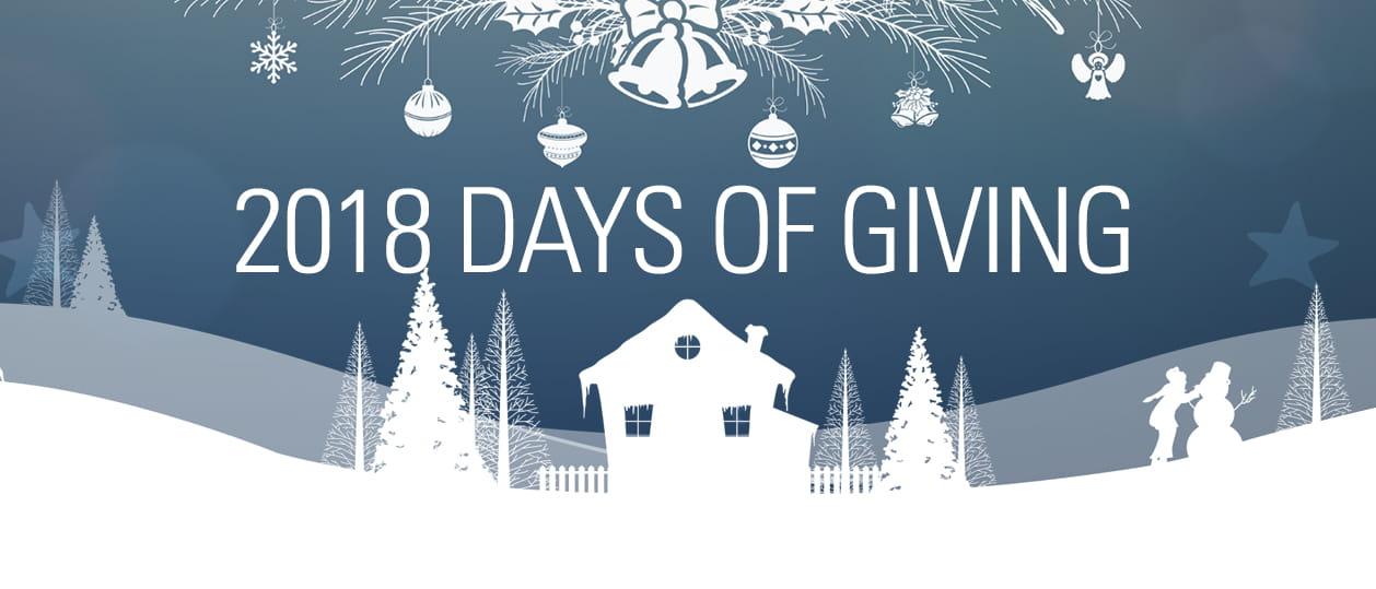 raymond days of giving, community outreach