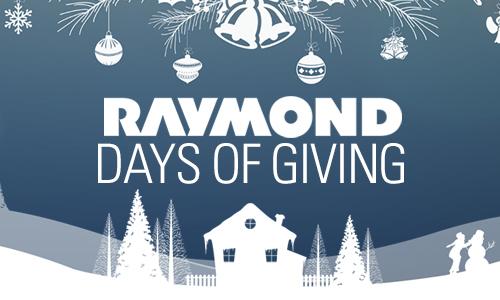 raymond days of giving