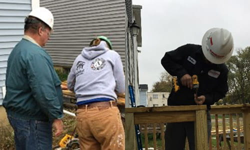 raymond storage concepts, days of giving, habitat for humanity