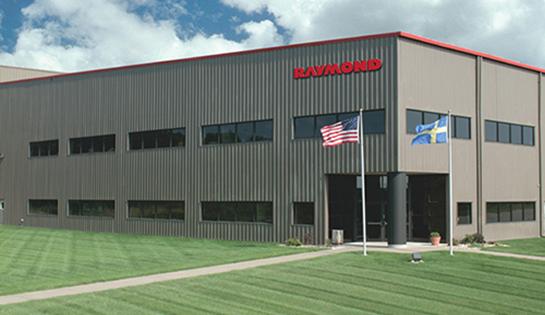 Muscatine Iowa, Manufacturing Plant, Raymond Corporation
